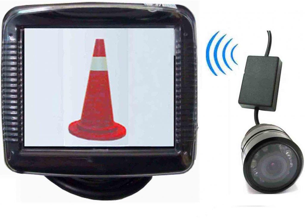 """Bezdrátový 3,5"""" LCD monitor + Couvací kamera s nočním viděním"""