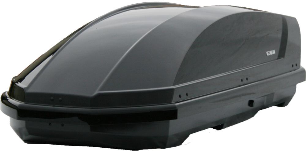 Střešní box NEUMANN Adventure 190 - černá lesklá