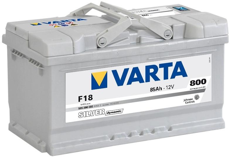 Autobaterie VARTA SILVER dynamic 85Ah 12V 800A