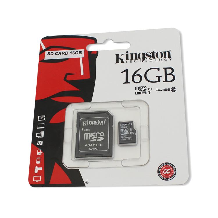KINGSTON mikro SDHC karta SD CARD 16GB