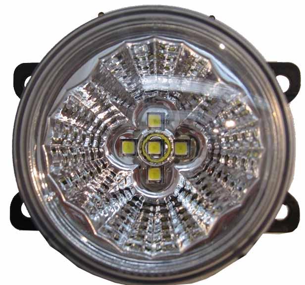 LED světla pro denní svícení, kulatá 92mm, ECE
