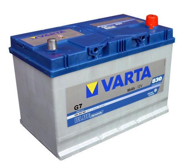Autobaterie 95Ah VARTA BLUE dynamic JAP P+