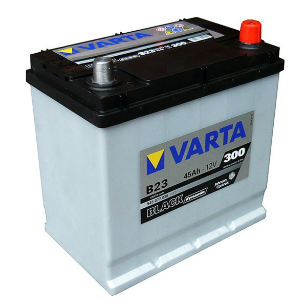 Autobaterie VARTA BLACK dynamic 45Ah 12V 300A 5454077