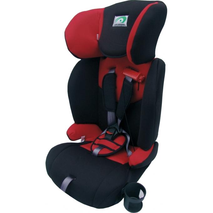 Autosedačka 9-36kg, červeno-černá