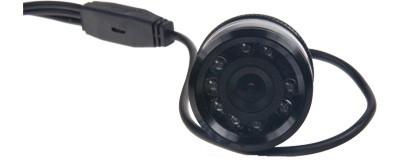 Couvací kamera 28mm s nočním viděním do nárazníku
