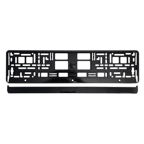 Podložka pod SPZ / registrační značku - BLACK metallic