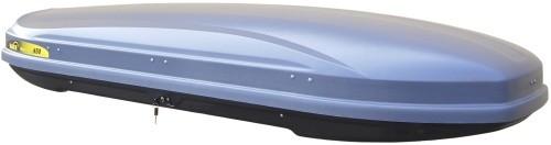 Střešní box Hakr Magic Line 450 šedý lesklý
