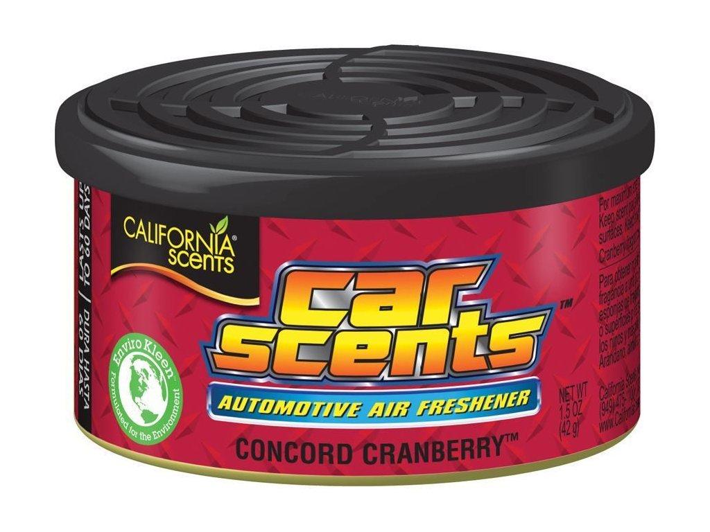 Osvěžovač vzduchu California Scents, vůně Car Scents - Brusinky