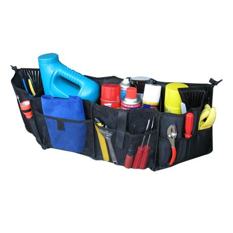 Závěsný organizér do kufru