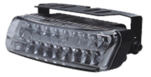 LED světla pro denní svícení, 100x26mm, ECE
