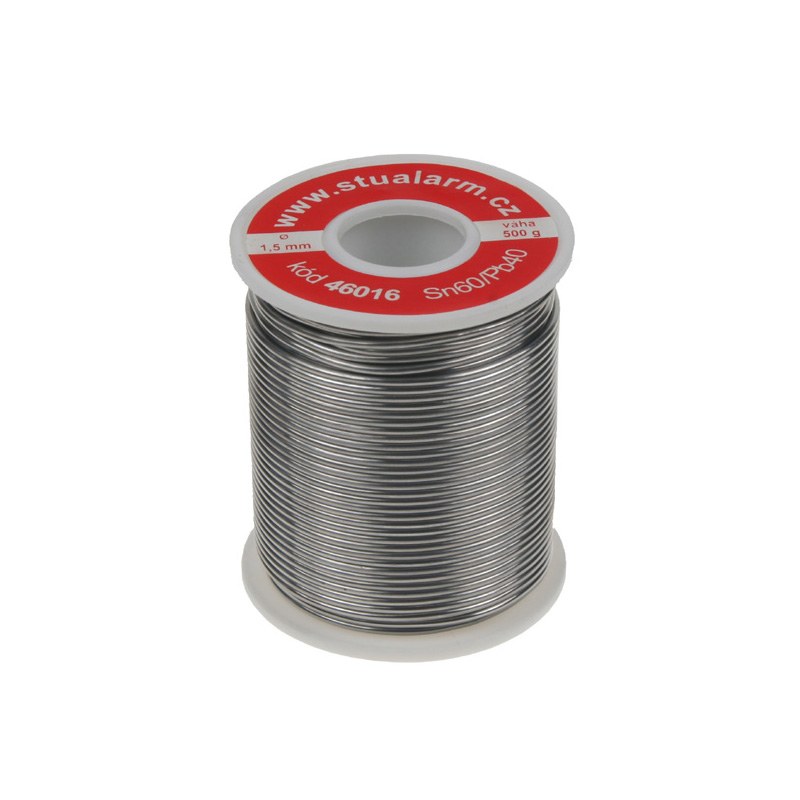 Trubičkový cín cívka 0,5kg, 1,5mm