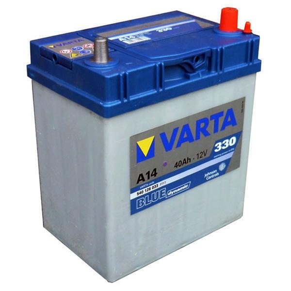 Autobaterie 40Ah VARTA BLUE dynamic JAP