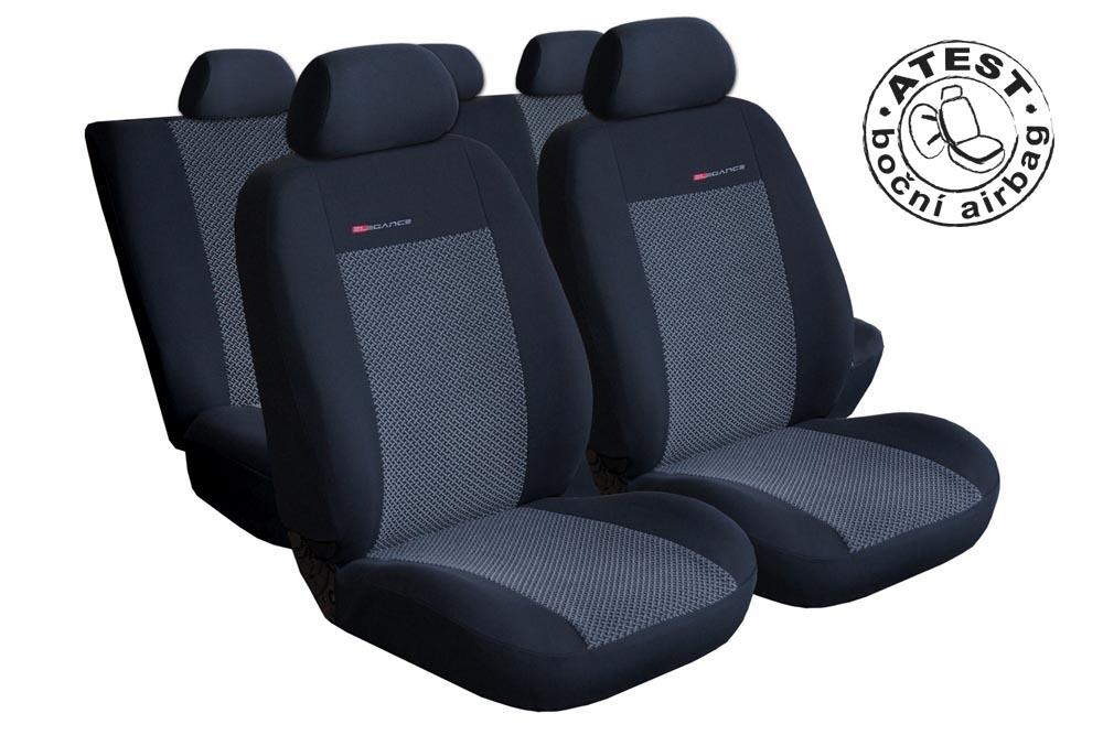 Autopotahy Seat Cordoba II SPORT, od r. 2002-2011, šedo černé