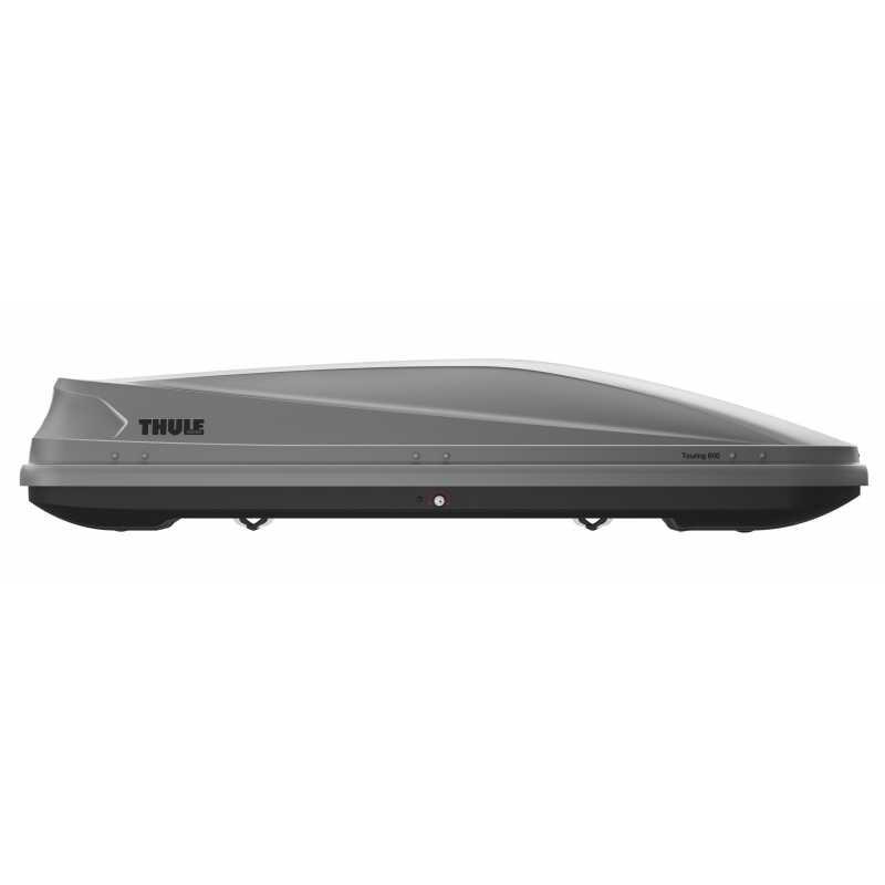 Střešní box Thule Touring 600 Aeroskin titanový