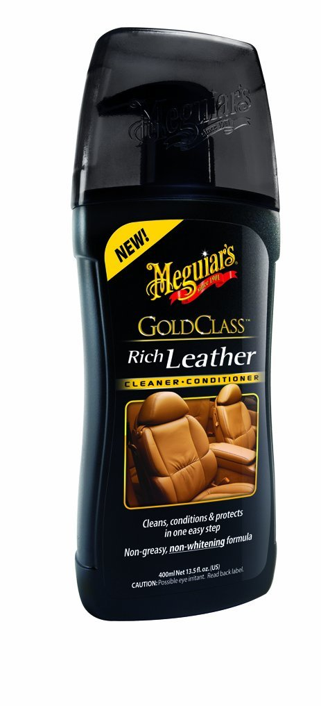 Meguiars Gold Class Rich Leather Cleaner/Conditioner - čistič a kondicionér na kůži, 400 m