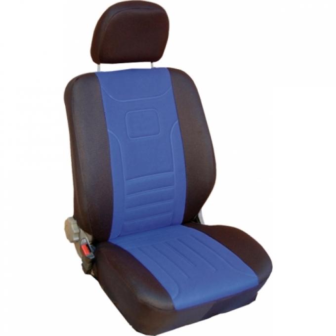 Autopotahy Classic Škoda Felicia s nedělenou zadní sedačkou, modré