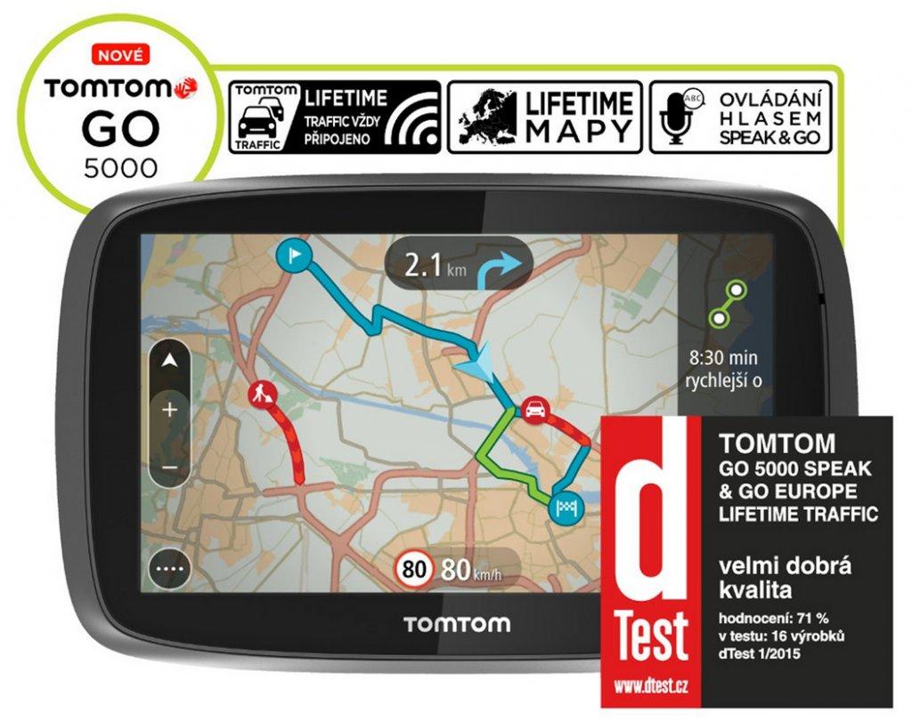Navigace TomTom GO 5000 Europe LIFETIME