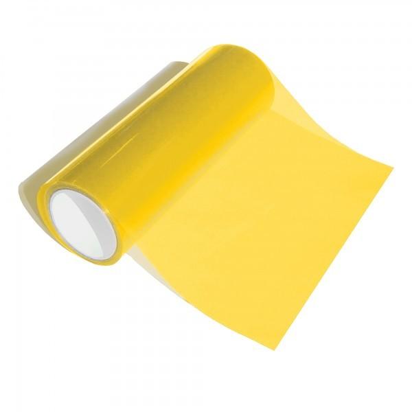 Transparentní fólie na světla - žlutá