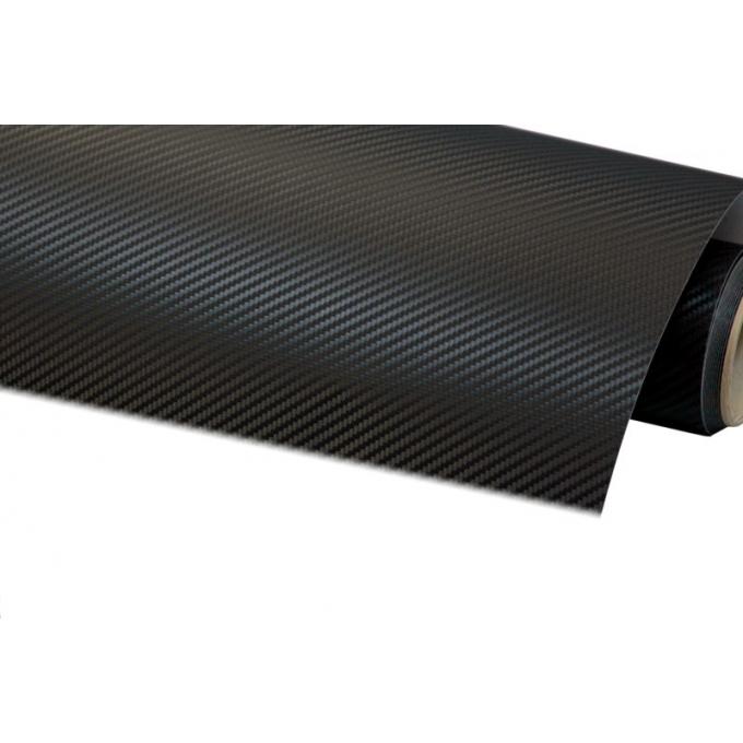 Fólie ozdobná 3D carbon černý 100x152cm