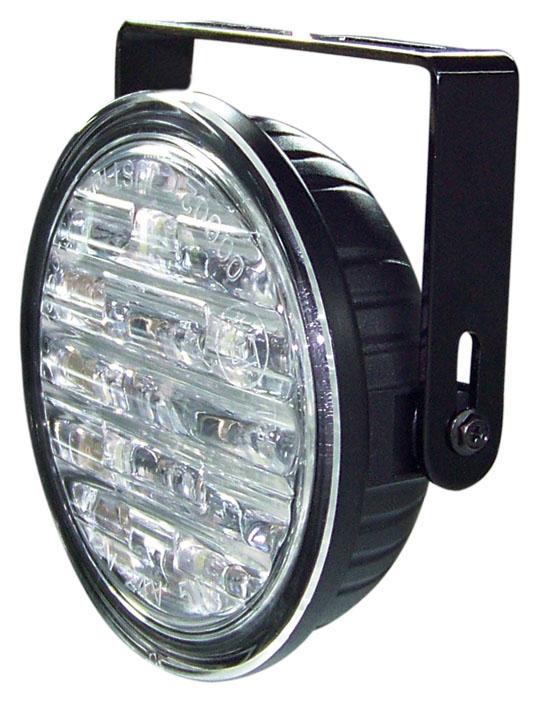 LED světla pro denní svícení, kulatá 90mm, ECE