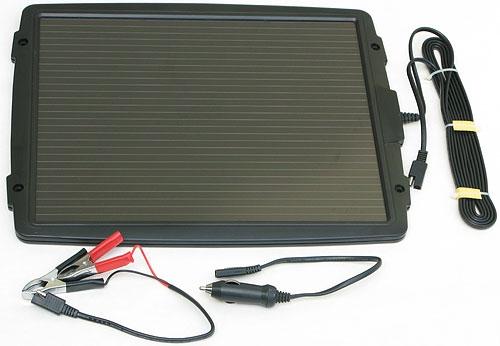 Solární autonabíječka 12V/4,8W