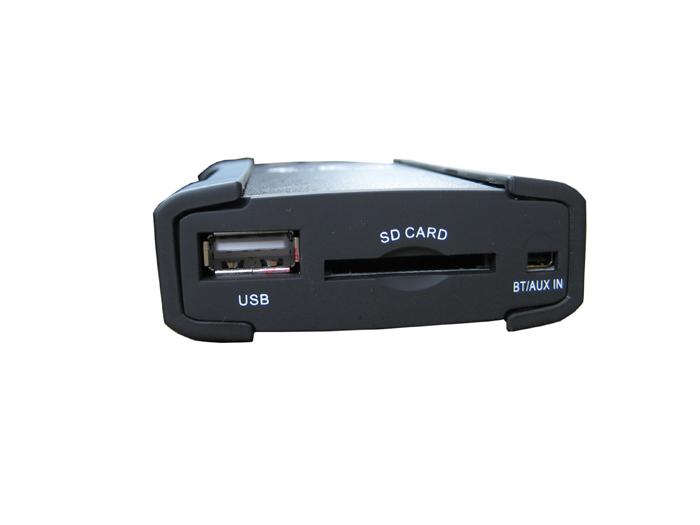 Adaptér pro ovládání USB zařízení OEM rádiem Mercedes/AUX vstup