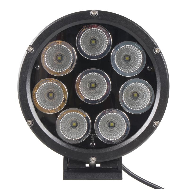 LED světlo na pracovní stroje kulaté, 10-30V , ECE R112