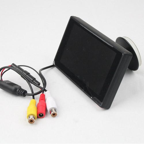"""Lcd monitor do auta 4,3"""" s přísavkou na sklo"""