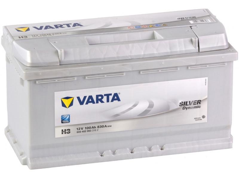 Autobaterie VARTA SILVER dynamic 110Ah 12V 920A