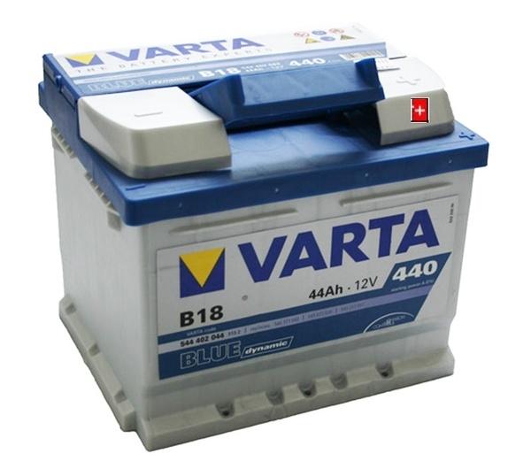 Autobaterie 44Ah VARTA BLUE dynamic