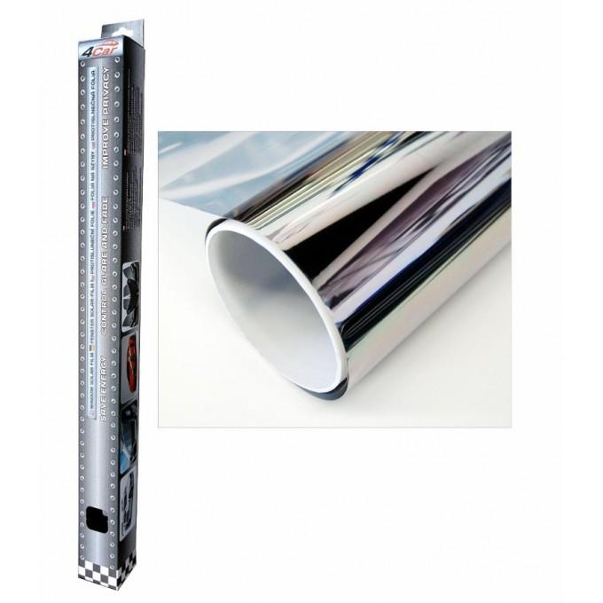 Protisluneční folie stříbrná 75x300cm