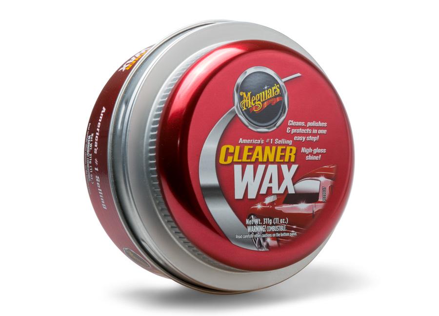 Meguiars Cleaner Wax Paste - tuhá, lehce abrazivní leštěnka s voskem, 311 g