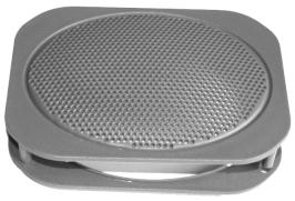 PLAST pro repro Daewoo Matiz mřížka na zadní repro ovál