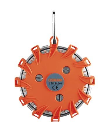 OSRAM LED výstražné světlo 16LED, oranžové