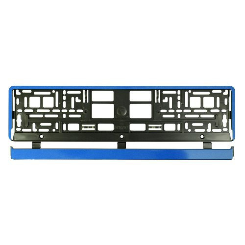 Podložka pod SPZ / registrační značku - BLUE STRIP