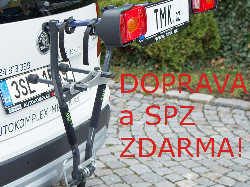 Nosič kol TMK 11 PLUS na tažné zařízení - Doprava a SPZ ZDARMA!