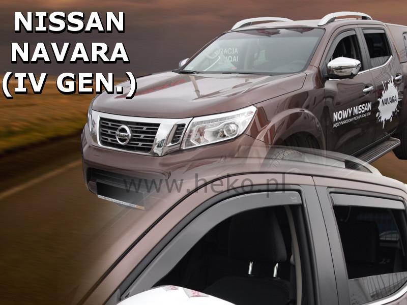 Ofuky oken - Nissan Navara 14R (+zadní)