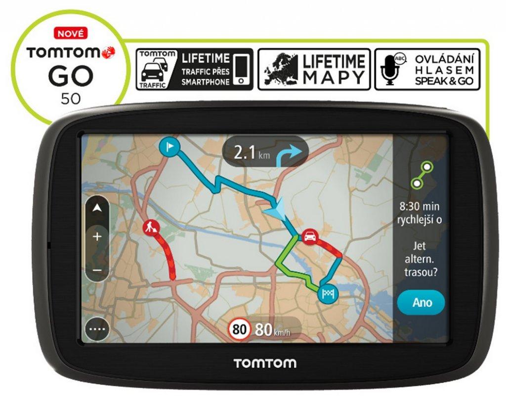 Navigace TomTom GO 50 Europe LIFETIME