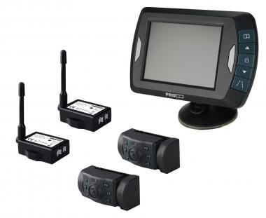 "Bezdrátový 3,5"" LCD se 2 infra kamerami"