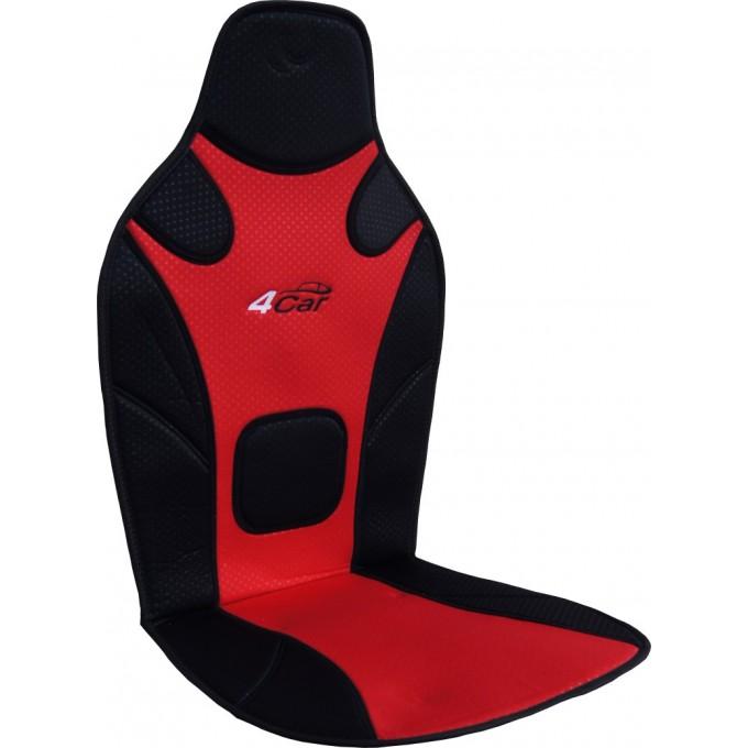 Podložka na sedadlo 4car, červeno/černá