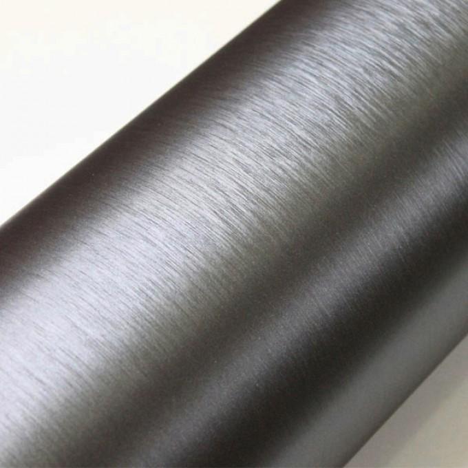 Fólie ozdobná brush stříbrná tmavá 50x60 cm
