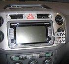 GSM konzole pro VW Golf Plus a Tiguan 2008-