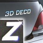 Písmeno samolepící chromové 3D-Deco - Z