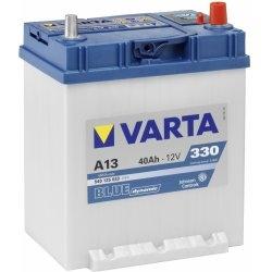 Autobaterie VARTA BLUE dynamic 40Ah 12V 330A