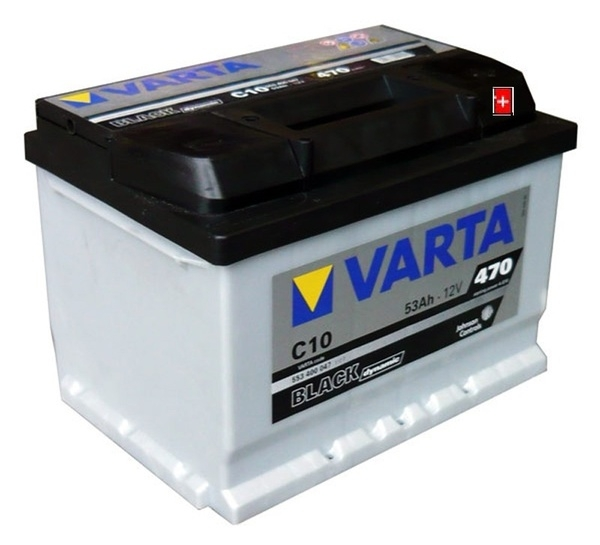 Autobaterie VARTA BLACK dynamic 53Ah 12V 470A 553400