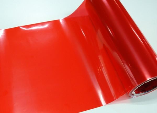 Transparentní fólie na světla - červená