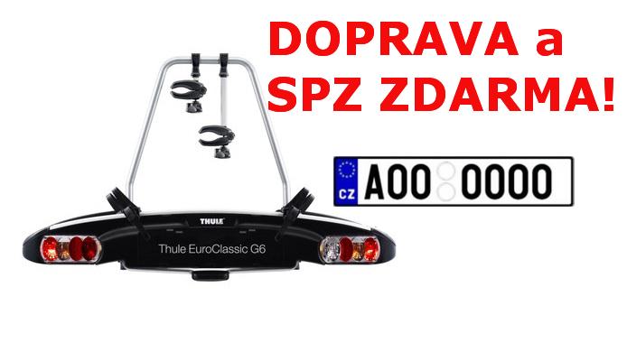 Nosič kol Thule EuroClassic G6 928 SPZ a DOPRAVA ZDARMA