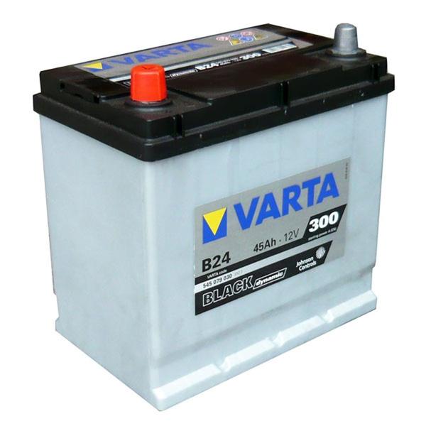 Autobaterie VARTA BLACK dynamic 45Ah 12V 300A 5454079