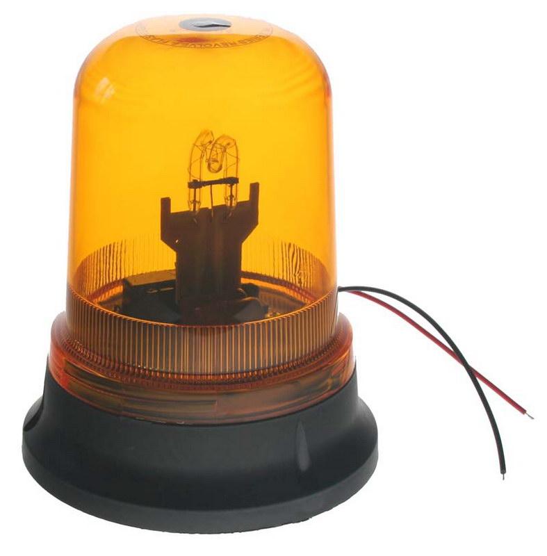 x Zábleskový maják, 12V, oranžový, ECE R10