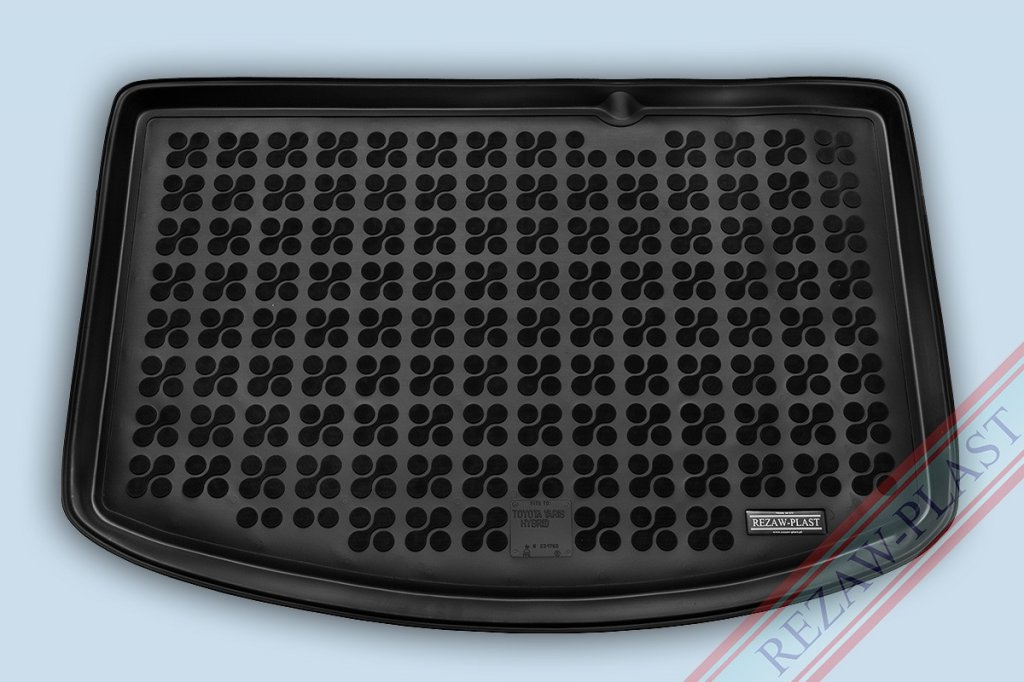 Gumová vana do kufru TOYOTA Yaris hybrid r.v. 2014-> dolní kufr (dojezdové kolo)